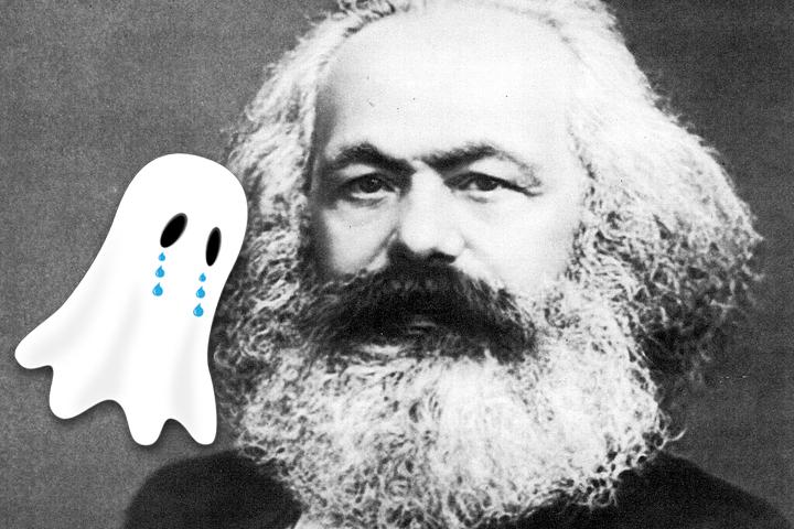 Thumbnail for Marx miss spökar fortfarande
